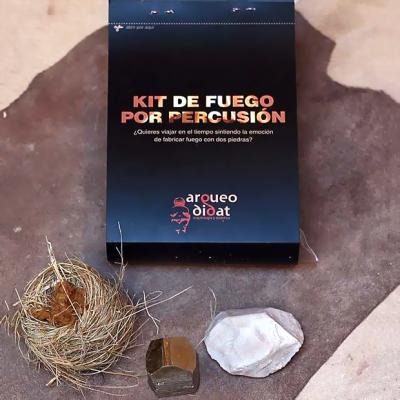 Kit de encendido de fuego por percusión