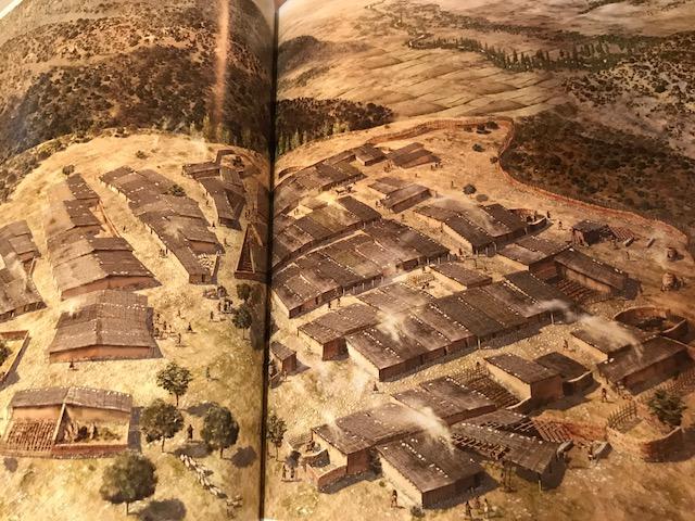 Ilustración del oppidum