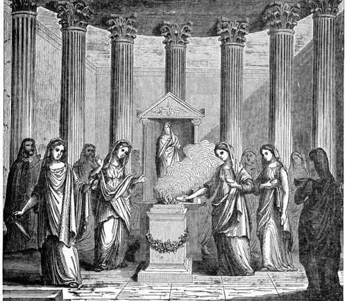 Vestales romanas