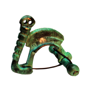 Fíbula carpetana de Santorcaz grande