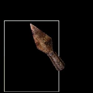 Punta de flecha pequeña I