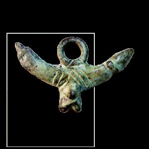 Amuleto fálico romano de Segóbriga