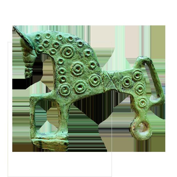 Fíbula Caballito de Numancia