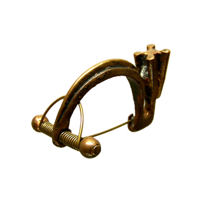 Fíbula carpetana bronce grande