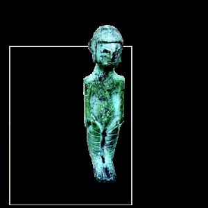 Figura masculina tonsurada