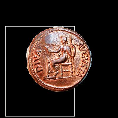 de bronce de Roma_reverso