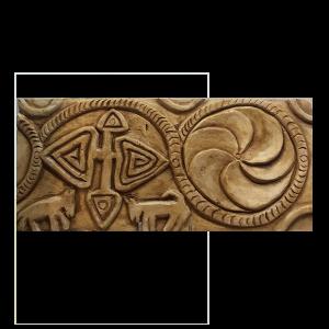 Relieve de capitel prerrománico