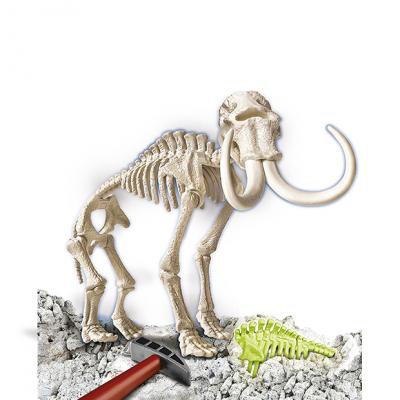 Mamut, aprende jugando. Excava como un autentico arqueólogo y descubre y monta tu propio fósil de Mamut.