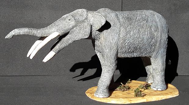 Miniatura de Tetralophodon, mastodonte