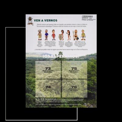 Atapuerca y la evolución humana en cromos (álbum 76 cromos)