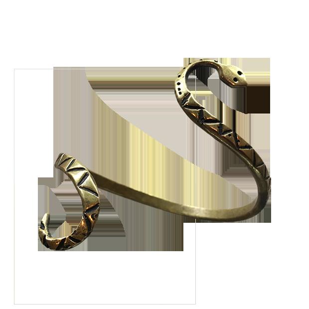 Brazalete romano de serpiente
