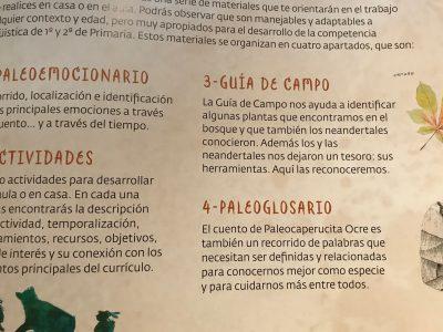 Paleocaperucita Ocre en Atapuerca. Cuento ilustrado y guía didáctica para papas y profesorado.