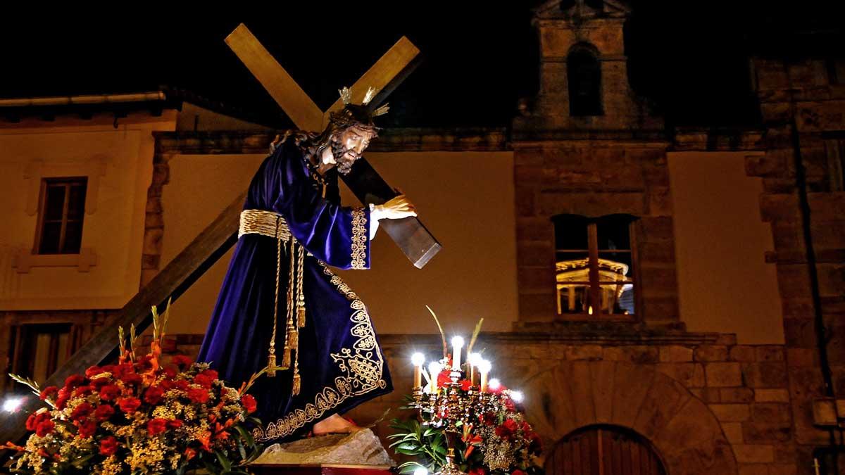 Procesión de Semana Santa en Durango