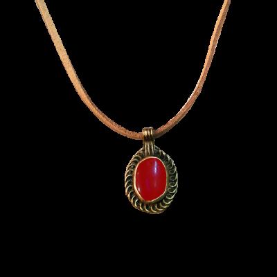 Colgante romano vintage II_rojo