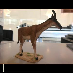 Paleominiatura exclusiva en resina del Decennatherium rex