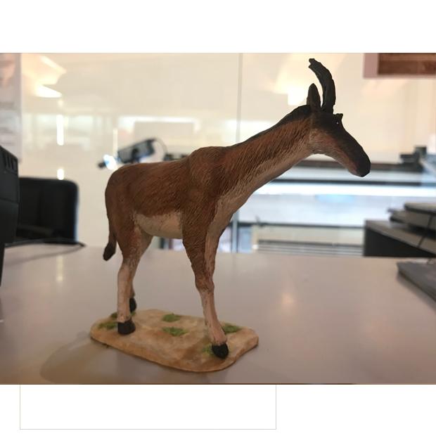 Miniatura de Decennatherium rex, jirafa