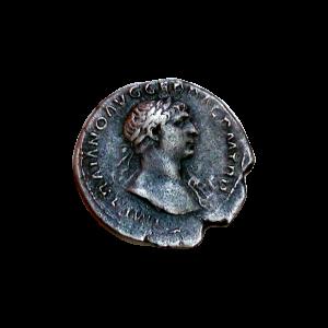 Denario de plata de Trajano