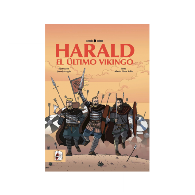 Harald, el último vikingo. Revive en un comic ameno y riguroso las aventuras del último de los vikingos