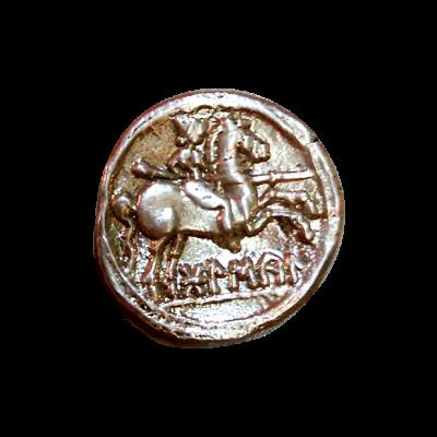 Denario de plata de Bolskan_reverso