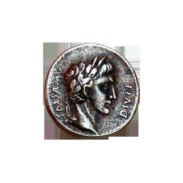 que es un denario de plata