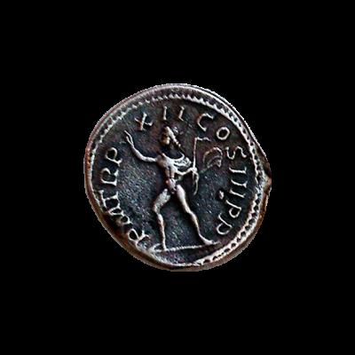 Denario de plata de Severo_reverso