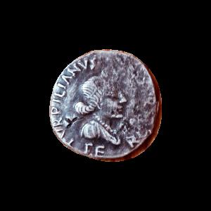 Denario de plata de Turpilianus