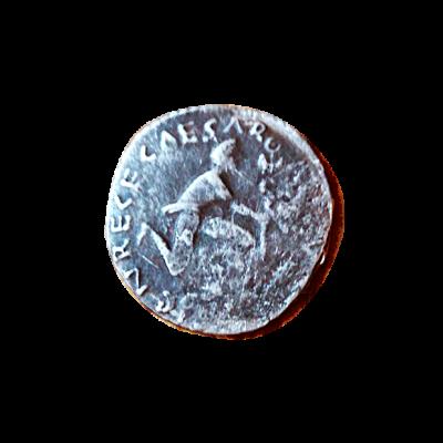 Denario de plata de Turpilianus_reverso