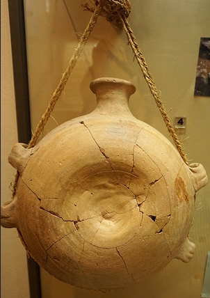 Cantimplora romana-Museo arqueológico municipal-Águilas
