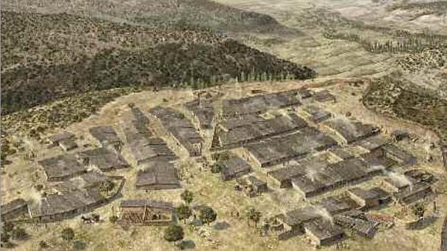 Reconstrucción del Oppida carpetano del Llano de la Horca en Santorcaz.