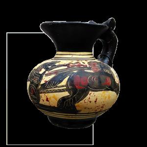 Jarras griegas de época arcaica tipo I