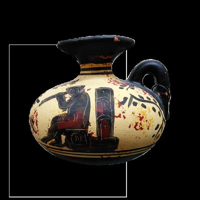 Jarras griegas de época arcaica tipo II