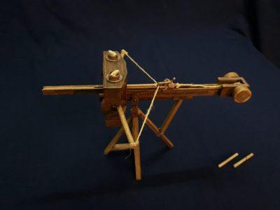 Catapulta Romana tipo Scorpio / Roman Scorpio Catapult