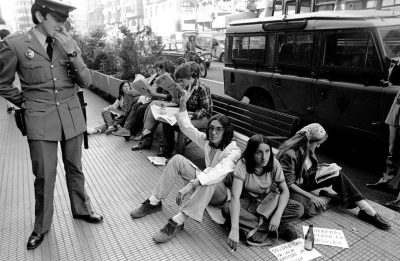 Españoles...Franco ha muerto, una crónica fotográfica de la transición