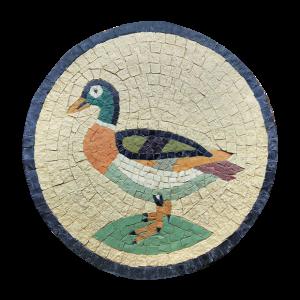 Mosaico romano de pato