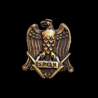 Águila romana en bronce con pátina