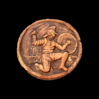 Medallón de gladiadores