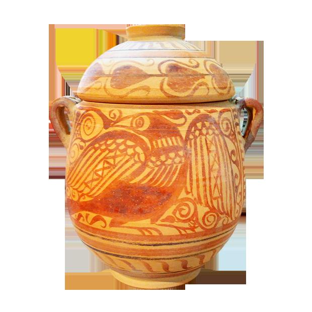 Urnas iberas de estilo Elche Archana I b