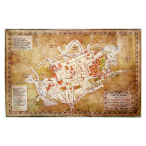 Plano de Alcalá de Henares 1565