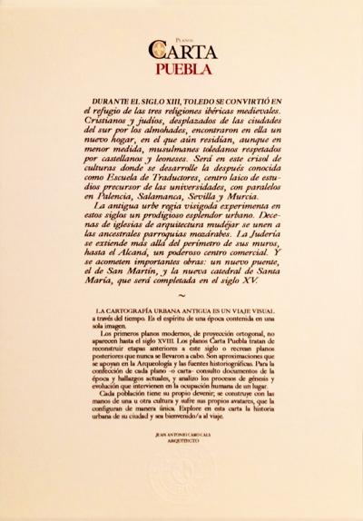 Planos Carta Puebla de Toledo