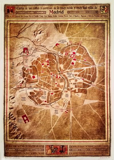 Villa de Madrid de 1470
