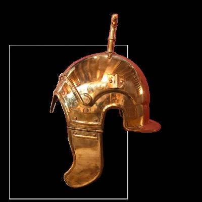 Casco hispano-calcídico en bronce