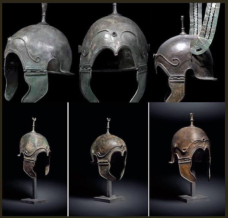 Los cascos hispano-calcídicos de Aranda de Moncayo