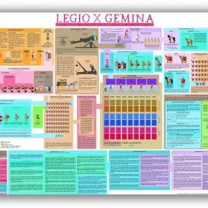 PÓSTER LEGIO X GEMINA