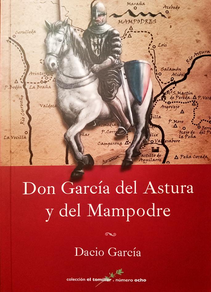 DON GARCÍA DEL ASTURA Y DEL MAMPODRE. Portada de l libro. Ilustración Javier Darío