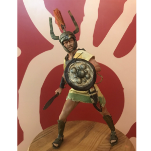 Figura artesanal de Guerrero Celtíbero escala 1/6
