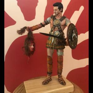 Figura artesanal de Guerrero Ibero II escala 1/6. Pieza única y exclusiva