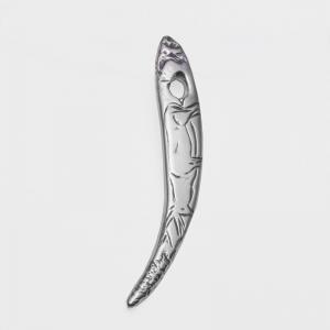 Colgante bastón de mando perforado