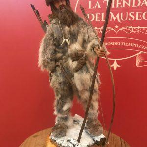 """Figura de Ötzi el """"Hombre del hielo"""" escala 1/6. Pieza artesanal, única y exclusiva"""